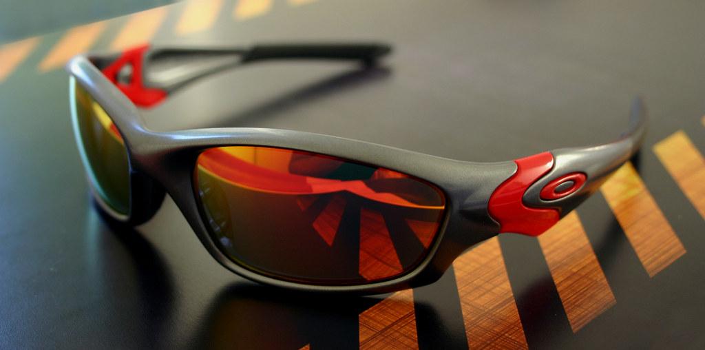 Oakley New Straight jacket Ducati Corse + ruby lens | Flickr