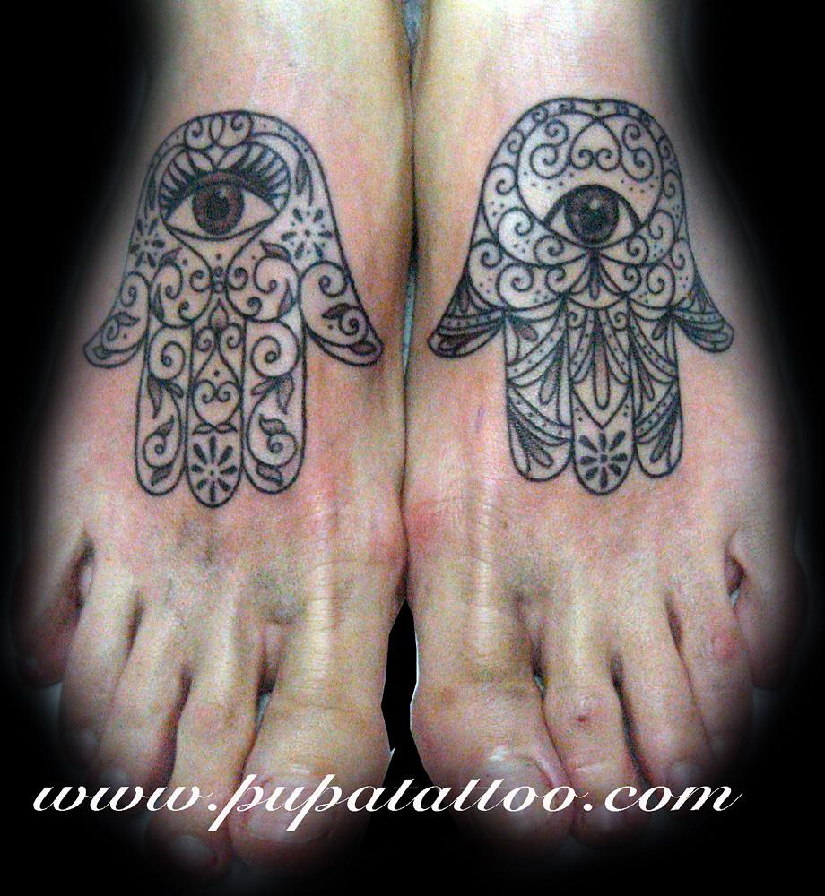 Tatuaje Mano De Fatima Pupa Tattoo Granada Pupa Tattoo A Flickr