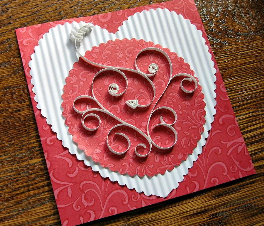 Quilled Valentine Card Tutorial Free Spirit Heart Flickr