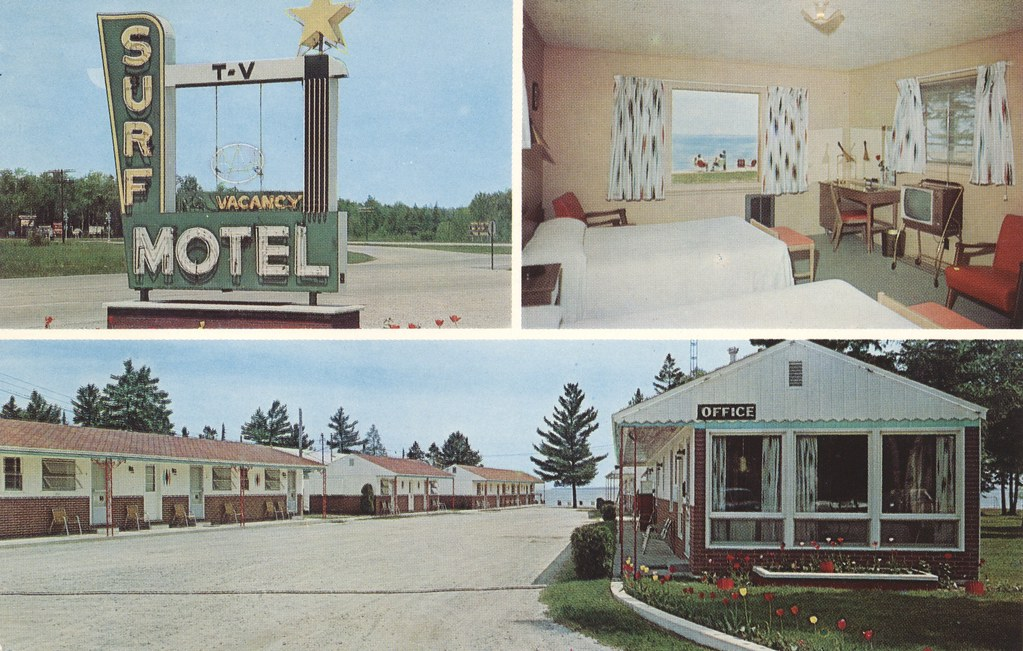 Surf Motel - Mackinaw City, Michigan