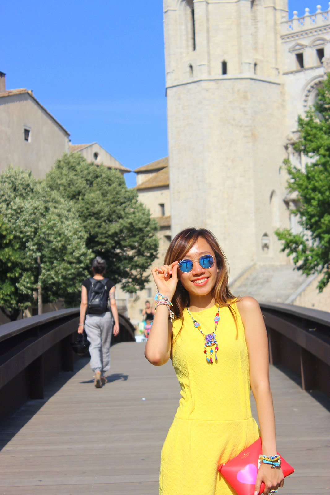 zara yellow jumpsuit