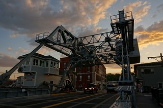 Mystic River Bascule Bridge -US 1, Mystic, Connecticut | by RoadTripMemories