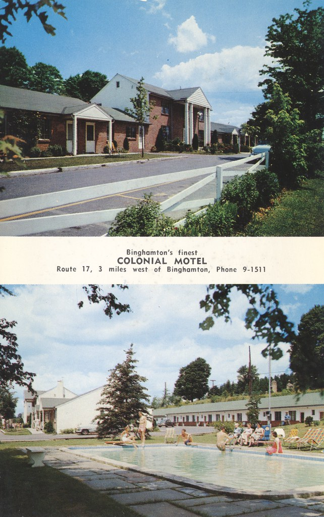 Colonial Motel - Binghamton, New York