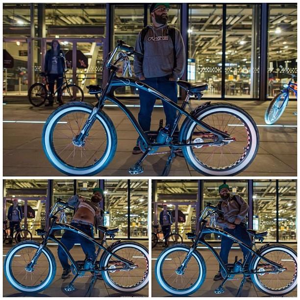 Стриптиз с велосипедом