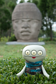 Uglyworld #2060 - Olmecs Header - (Project Cinko Time - Image 262-365) | by www.bazpics.com