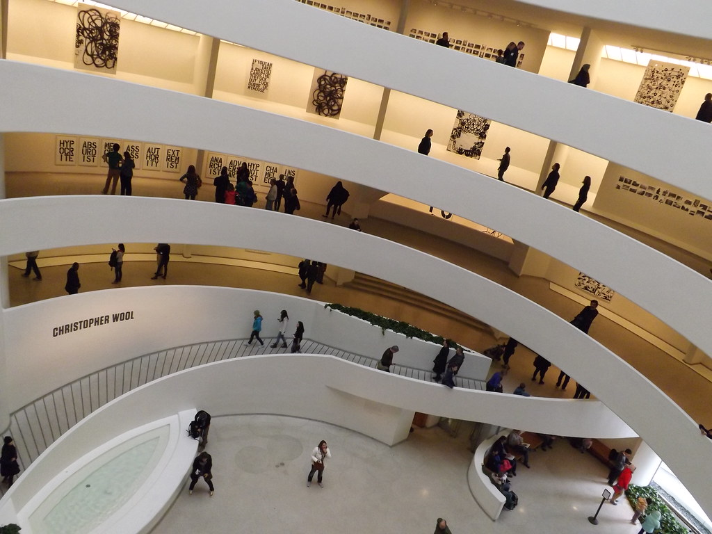Interior Of Guggenheim Museum Frank Lloyd Wright Architec