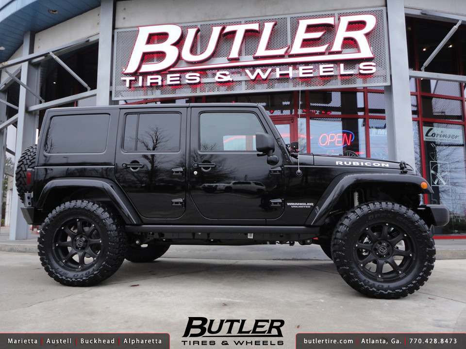 Jeep Wrangler Rubicon With 20in Black Rhino Glamis Wheels Flickr