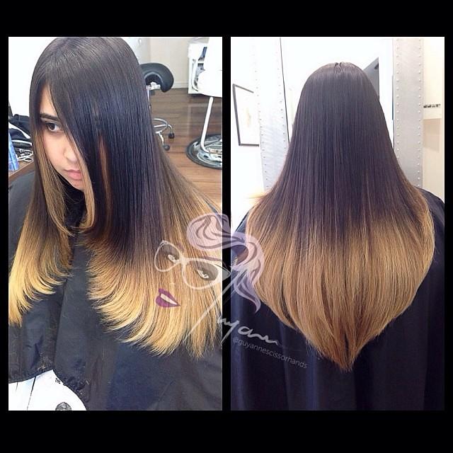 V Haircut Extreme Vcut Extremev Longhair Envy Salon Spa