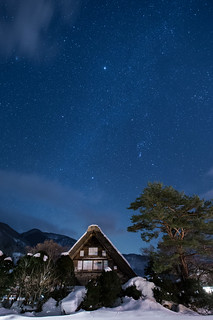 Stars in Shirakawago | by Takashi(aes256)