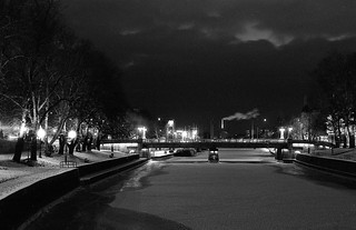 View from the Turku Library Bridge | by kmether
