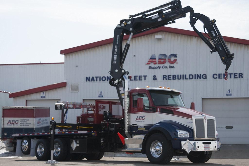 ... Kenworth T880 ABC Supply 6 | By TruckPR