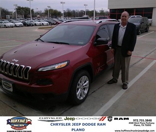 Congratulations To Darrell Ash On Your Jeep Cherokee Pur