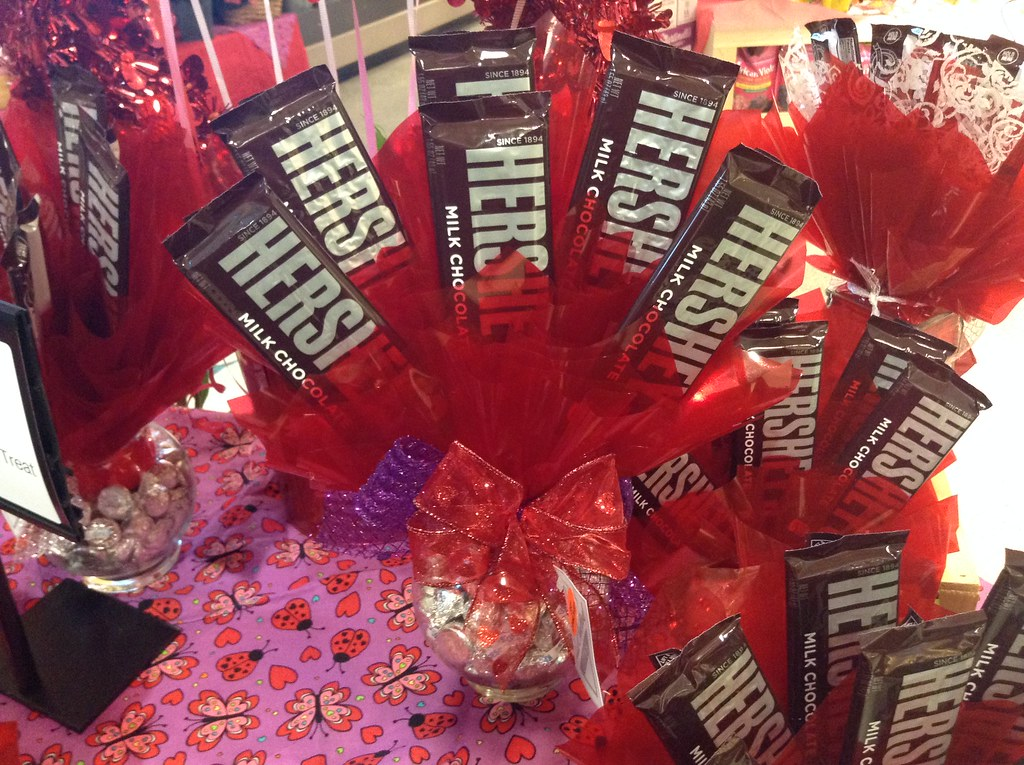 Hershey Chocolate Bar Bouquets For Valentines Day 2015 S Flickr