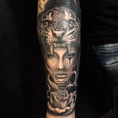 Guivy Tattoo Geneve Geneva Artforsinners Tattoo Flickr