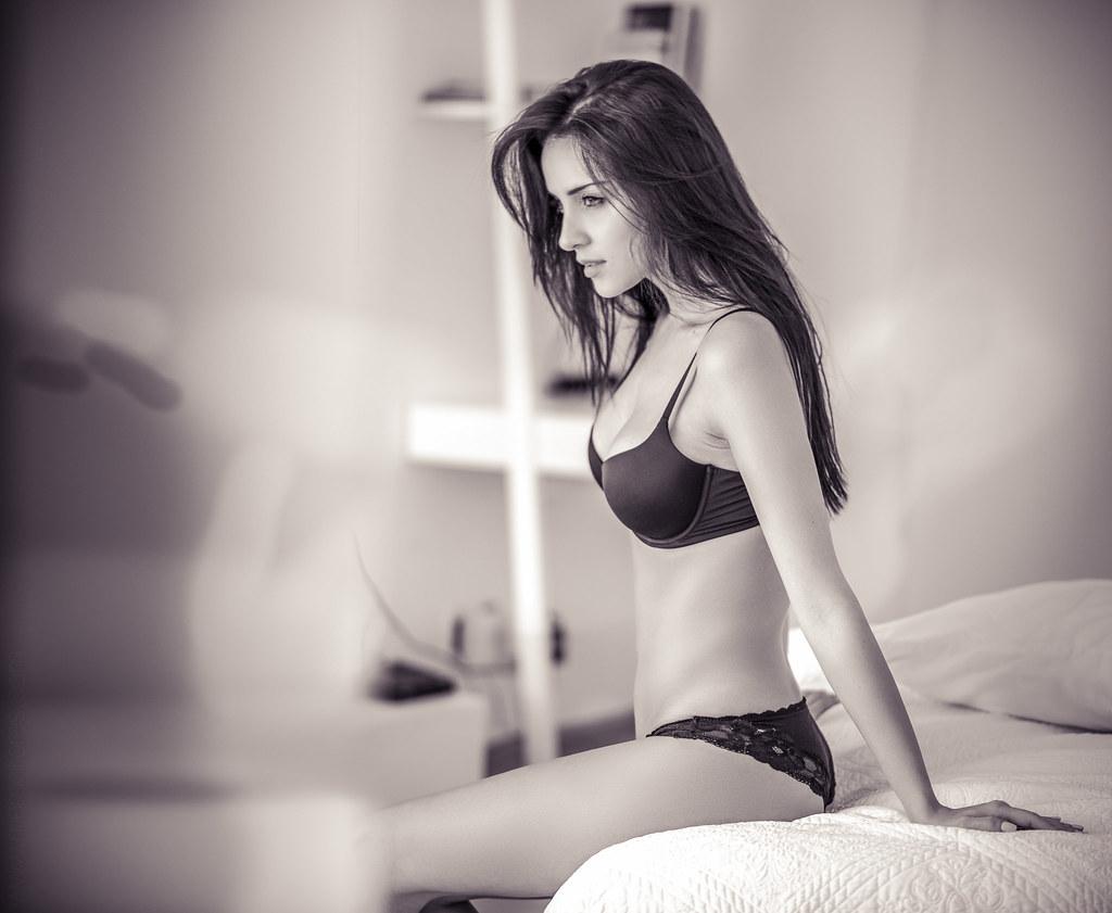 Sexy model photoshoot