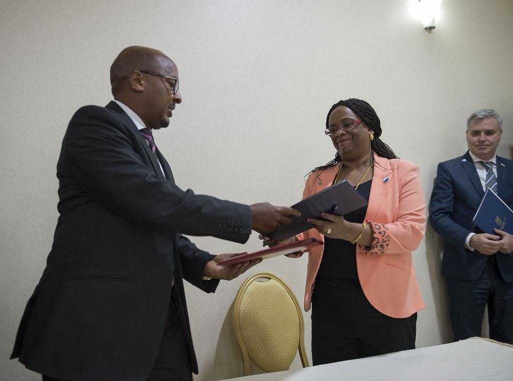 Israels Ambassador To Rwanda Belaynesh Zevadia And Rwanda Flickr