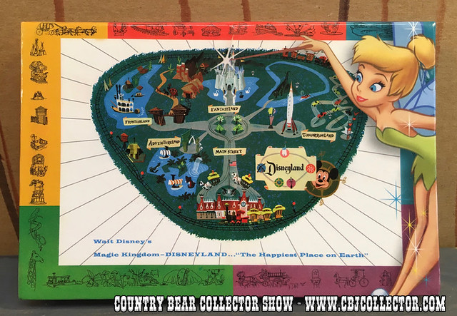 2006 Annual Passholder Disneyland 50th Dining Mile Long Bar Pin - Country Bear Jamboree Collector Show #061