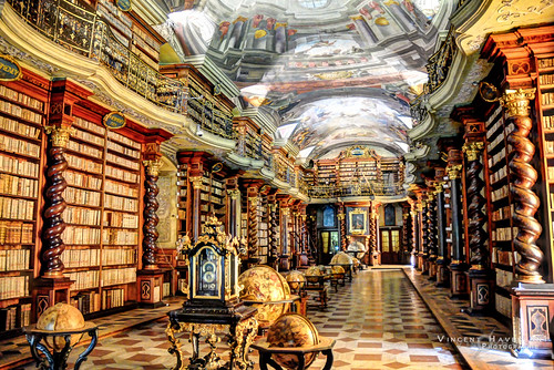 Klementinum Library Klementinum Library In Prague This
