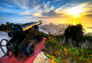 Sunset Gibraltar Gibraltar