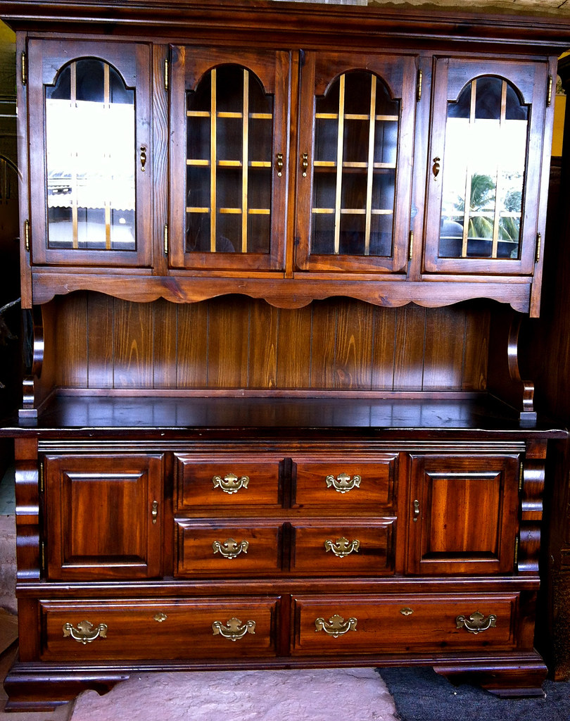Furniture, for sale Antique Country Hutch and Cabinet for sale in Trinidad  and Tobago. Furniture, for sale - Antique Country Hutch And Cabinet For Sale In Trinidad And… Flickr
