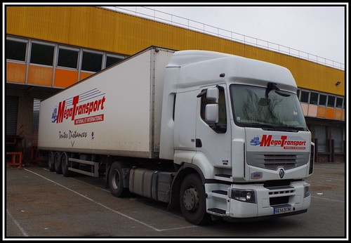 Renault Premium 450DXi Mega Transport, Torcy (F 77) Flickr # Renault Aulnay Sous Bois