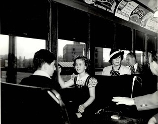 Shirley Temple Rides the 'L' | by cta web