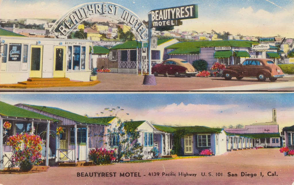 Beautyrest Motel - San Diego, California
