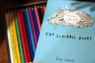 scribble diary | by artsy-crafty babe