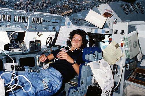 #TBT: Sally Ride Becomes First American Woman in Space -- June 18, 1983 | by NASA's Marshall Space Flight Center
