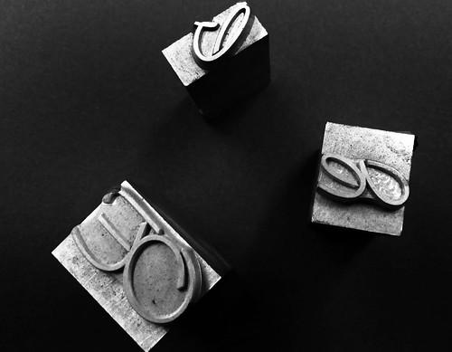 Caratteri mobili in corsivo inglese in piombo caratteri for Mobili in inglese