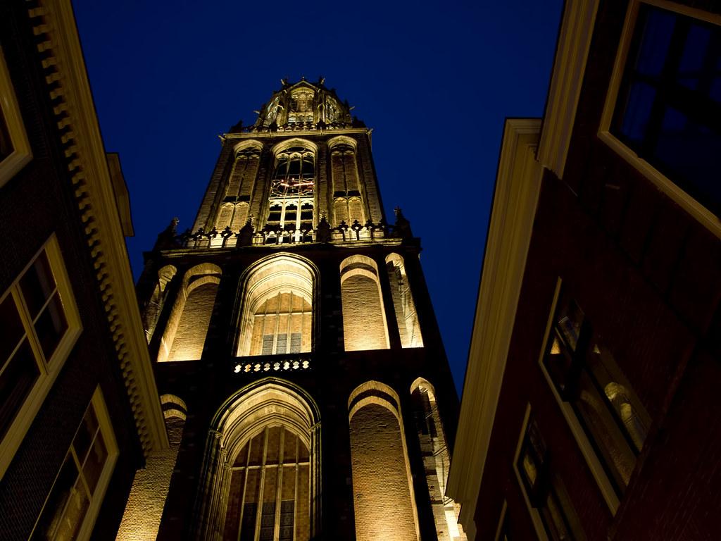 De Domtoren in Trajectum Lumen verlichting, Utrecht. | Flickr