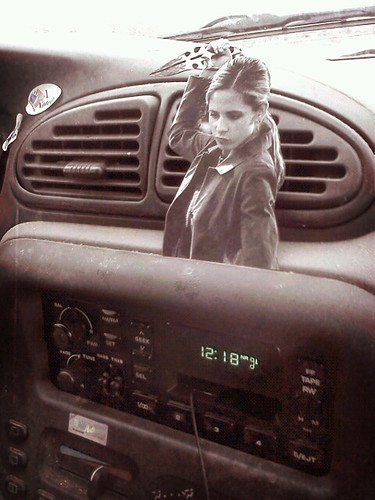 buffy protects the tape deck | by Jessica Baumann