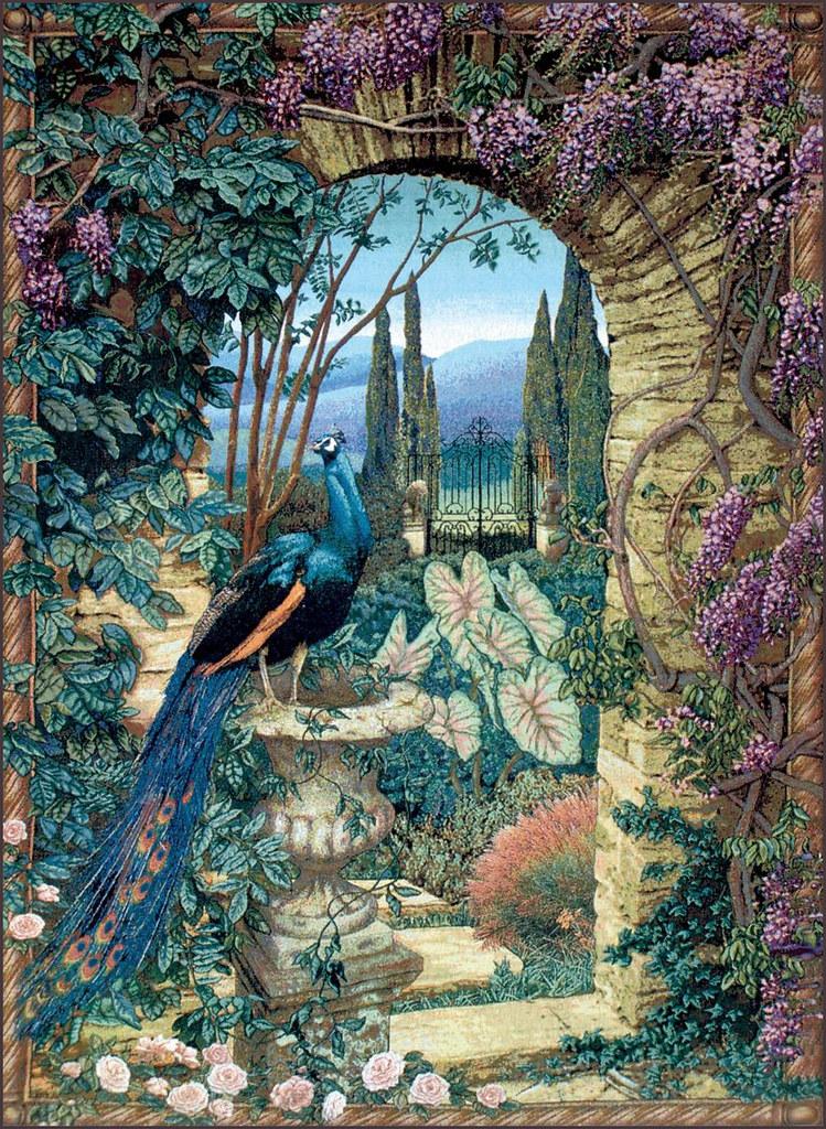... The Secret Garden Tapestry | By Plum Leaves