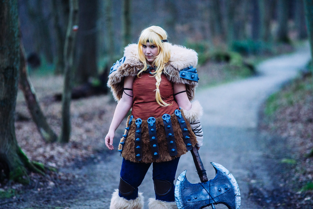 Astrid from how to train your dragon 2 cosplay by peyton flickr astrid from how to train your dragon 2 cosplay by peyton foret de soignies brussels ccuart Image collections