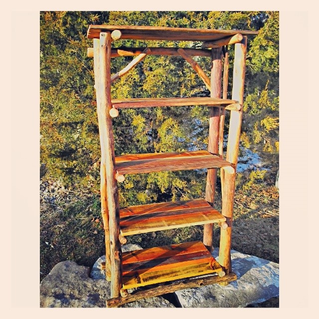 ... Www.woodzy.org New Bookshelf #rusticfurniture #reclaimedwood  #ecofriendly #eurekasprings #