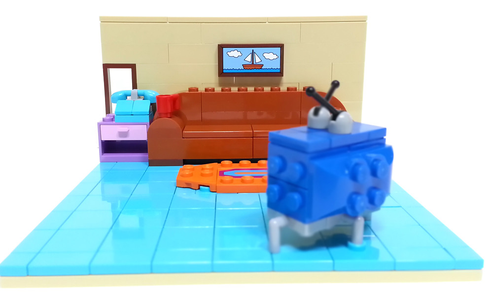Lego Simpsons Living Room Yolotistory199 Yong Kwan Lim