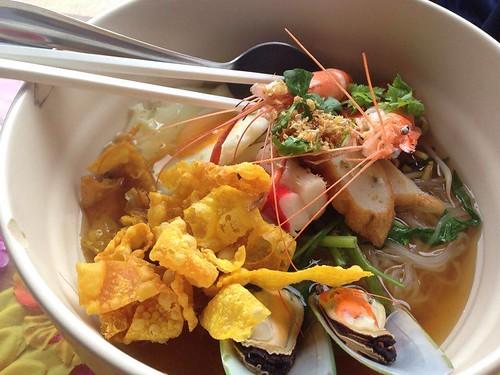 Koh Samui Seafood noodle