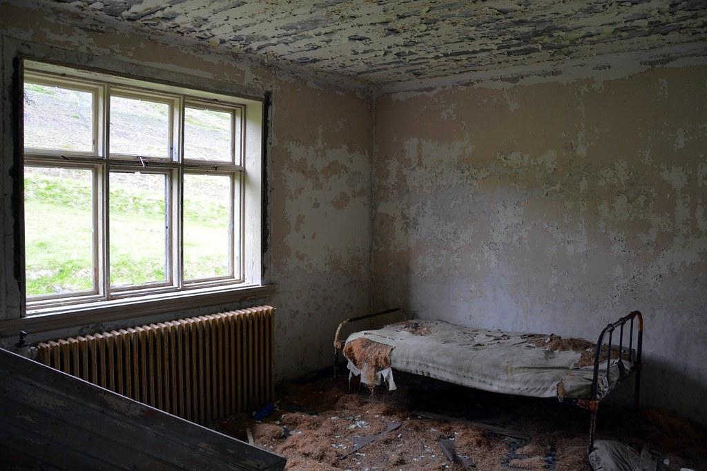 The old bedroom Bakkasel Akureyri Iceland by Martin Ystenes hei  The old  bedroom Bakkasel Akureyri. Old Bedroom