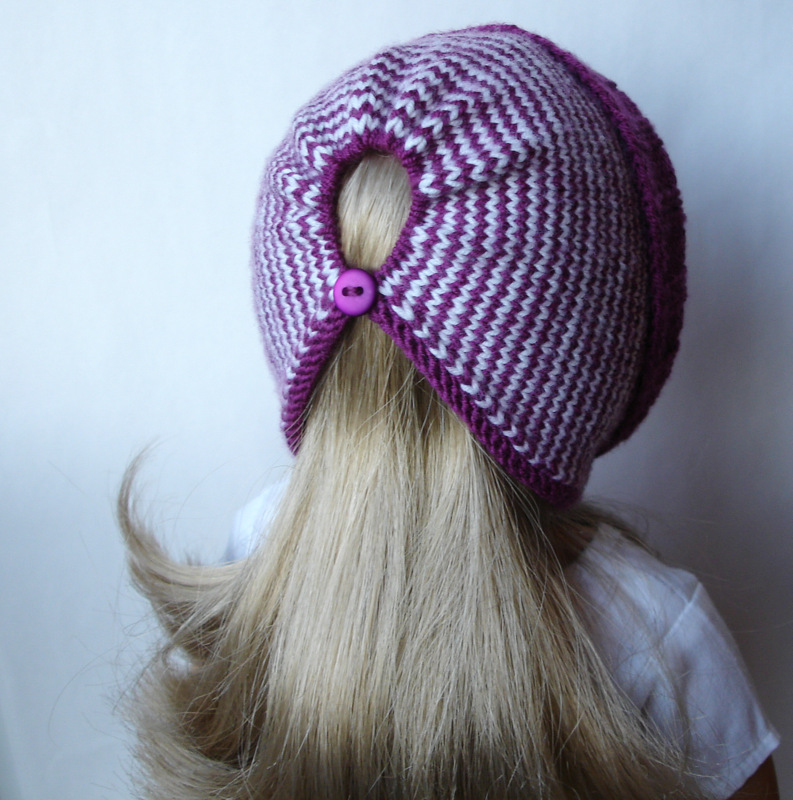 Fleur Hat Knitting Pattern For 18 Inch American Girl Dol Flickr