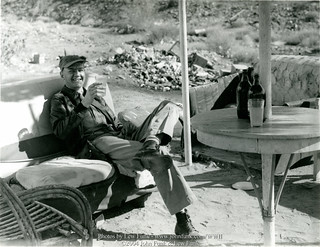 Lew Funk Relaxing at Near Blyth AAF | by John Funk from Golden Colorado