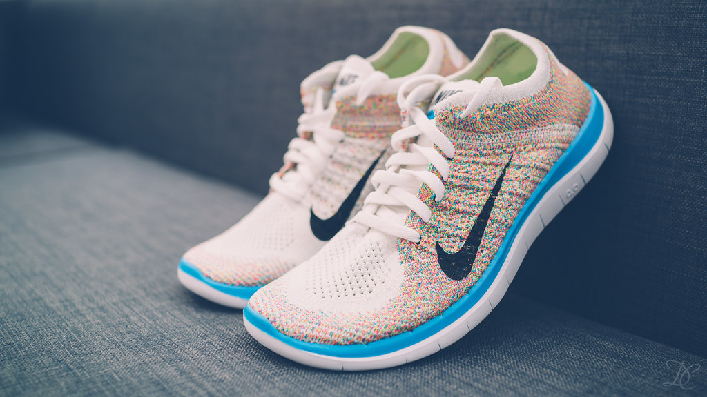 "reputable site 500c8 4885c Nike Womens Free 4.0 Flyknit ""Multi-Color""   by dtchan ..."