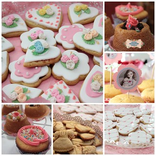 ** Here the cookies and cupcakes are already ready to set the table for Mother's Day. They were made with lots of love. Soon, more details of the table. ** <3 :) | by ♥ Little Enchanted World ♥