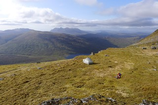 Wild camp on the west ridge of A' Chailleach | by Nick Bramhall