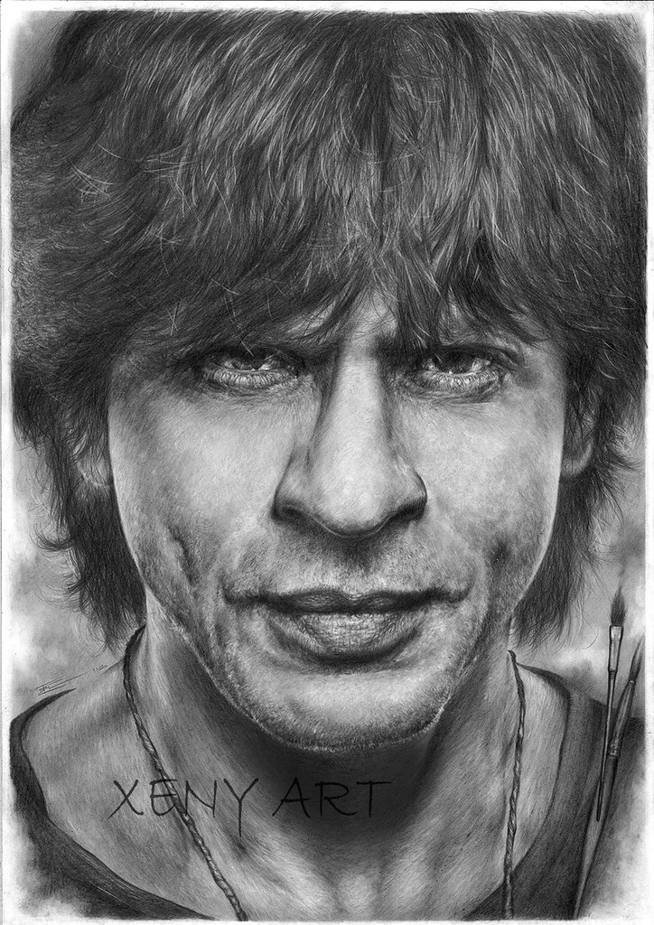 Shah rukh khan srk drawing pencil sketch art