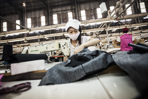 Garment factory in HCMC | by ILO in Asia and the Pacific