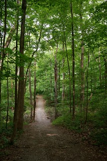 Hiking on Trail 5, Mounds State Park, Anderson, Indiana | by RoadTripMemories