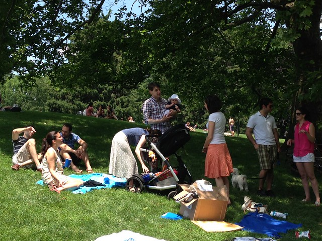 NYCC Central Park Picnic