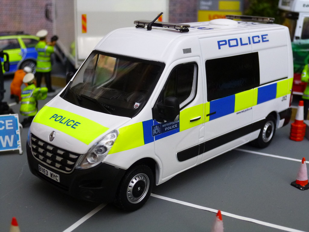 1/43 Code 3 Met Police Commercial Vehicle Unit Model At A … | Flickr