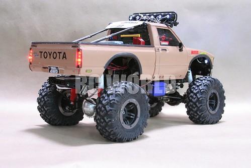 tamiya highlift rc toyota hilux monster truck tamiya. Black Bedroom Furniture Sets. Home Design Ideas