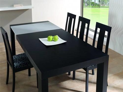 Mesas de comedor modernas de madera natural mesa mod fin - Mesas de madera modernas ...